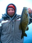 Mike's big smallie on the troll